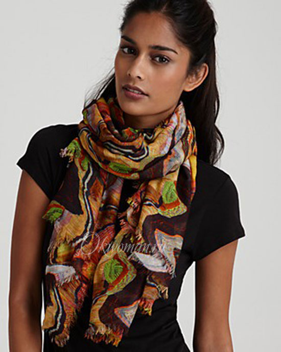 scarves for women fall winter 2011 2012 fashion trends